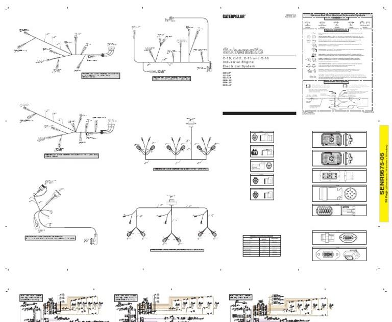 Cat C12 Engine Diagram