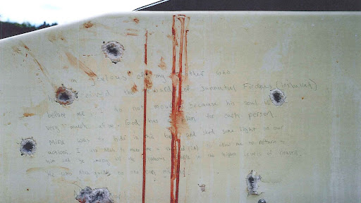 Avatar of What Boston Marathon Bombing Suspect Dzhokhar Tsarnaev Wrote in Blood-Stained Boat