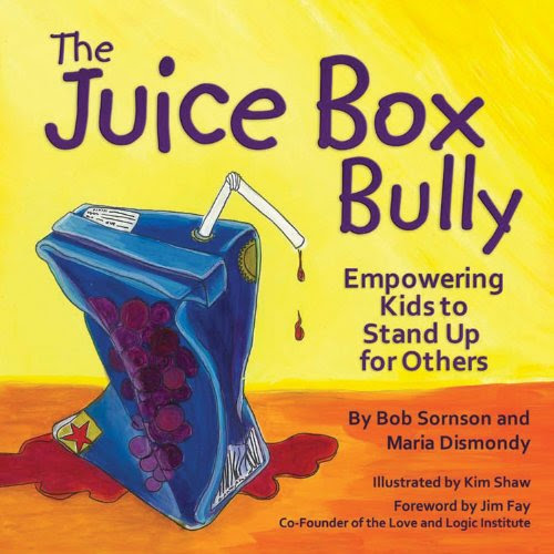 http://www.amazon.com/Juice-Box-Bully-Empowering-Others/dp/1933916729/ref=sr_1_1?ie=UTF8&qid=1435027111&sr=8-1&keywords=the+juice+box+bully