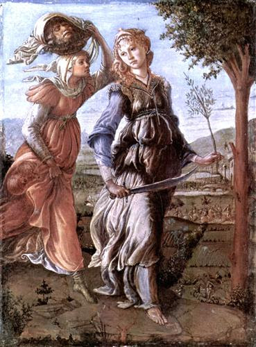 The return of Judith to Bethulia - Sandro Botticelli