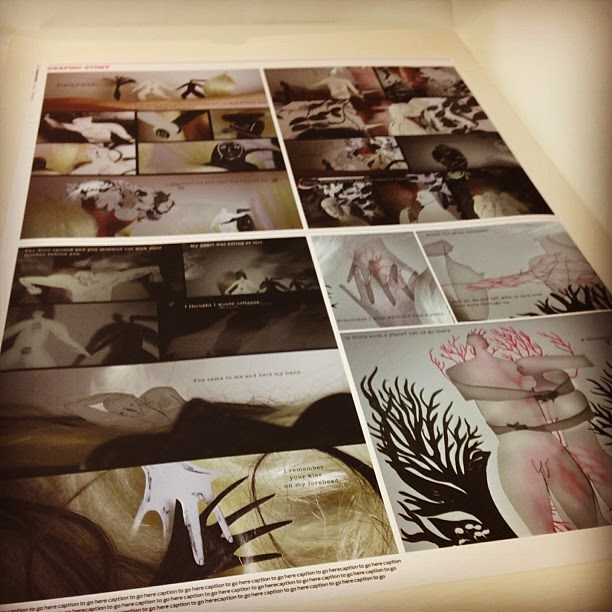 Graphic novel collaborate with Aindri