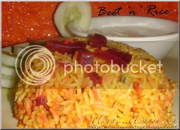 Beetn Rice