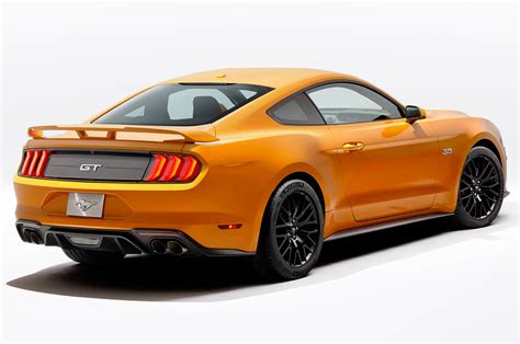 ford mustang brings design updates loses  engine