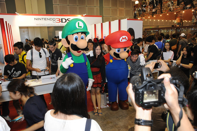 Super Mario brothers make an appearance (hi-res)