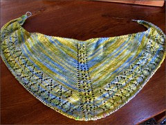 Reflection Shawl. as of 6/25/10