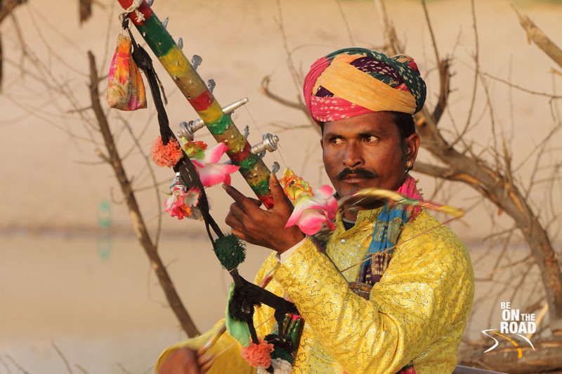 Portrait of a Rawan Hatha Musician, Bikaner, Rajasthan