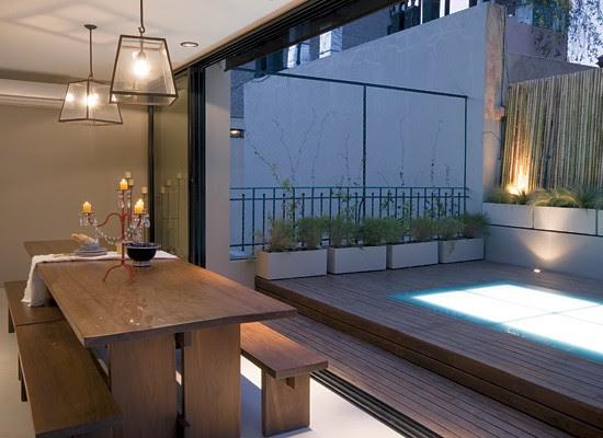Aire libre urbano el lujo en su justa medida tecno haus for Lujo interiores minimalistas