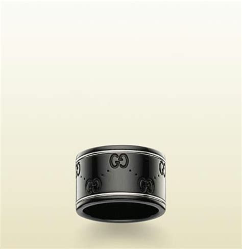 Black and white gold Gucci men's ring   Thing$ 4 my KinG