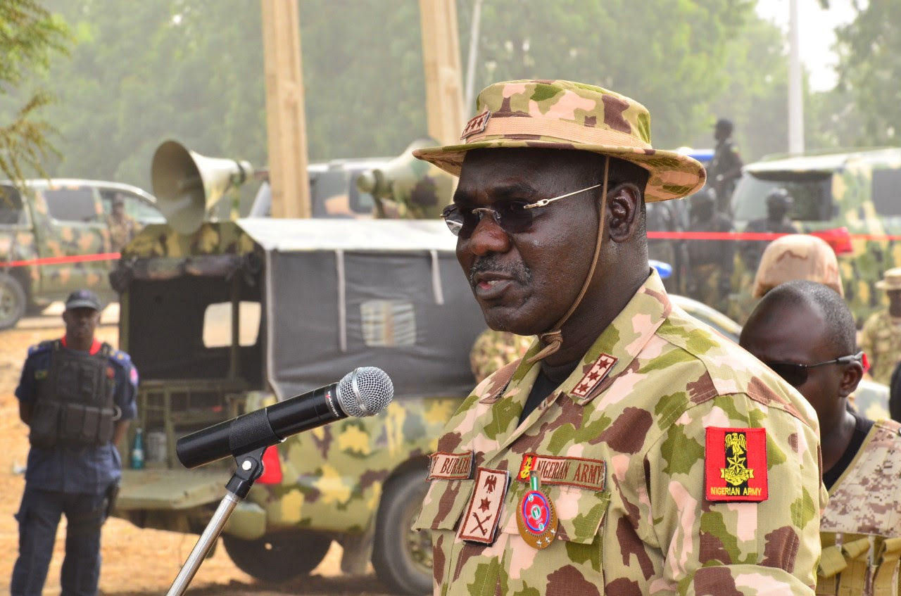Chief of Army Staff, Lt. General Tukur Buratai