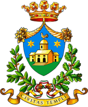 Coat of arms of Tempio Pausania