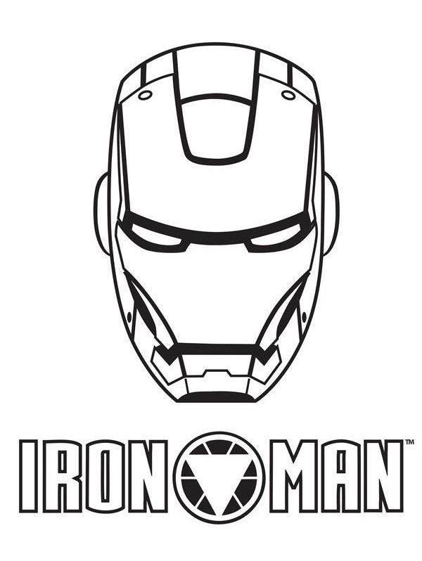 66 Gambar Iron Man Hitam Putih Gratis Terbaik