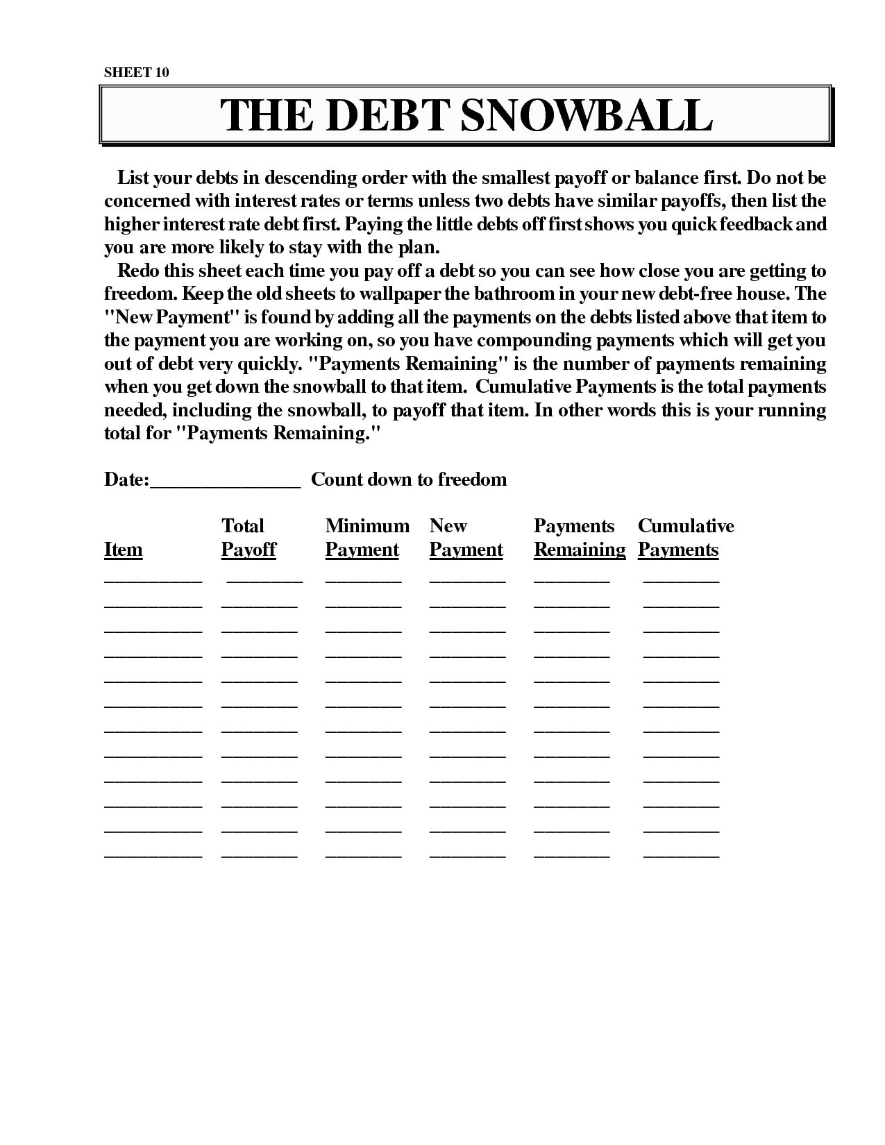 16 Best Images of Dave Ramsey Budget Worksheet PDF  Free Printable Dave Ramsey Budget
