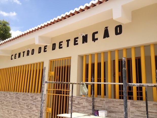 Centro de Detenção Provisória custodiará 60 presos em Apodi, no RN (Foto: Felipe Gibson/G1)