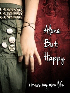 Download Alone But Happy Love And Romance For Your Mobile Cell Phone