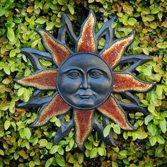 Sun faces on Pinterest