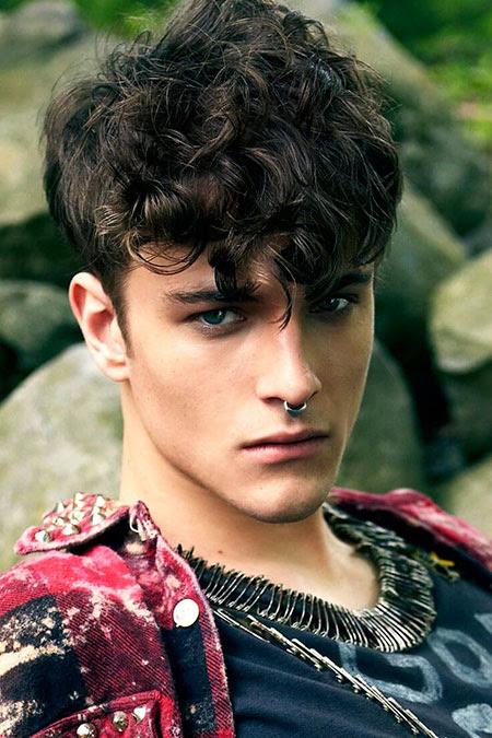 20 Male iHairstylesi for Curly iHairi The Best iMensi