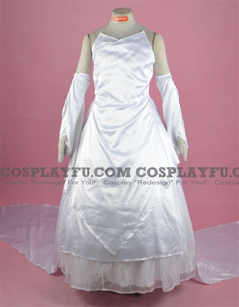 Custom Lunafreya Cosplay Costume (Wedding Dress) from