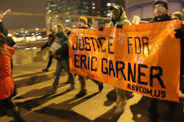 Hundreds Protest Death of Eric Garner at Hands of NYC Cop (PHOTOS)
