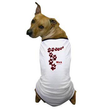 Max Name Dog T-Shirt