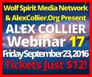 Alex Collier's SEVENTEENTH Webinar *LIVE* - September 23, 2016!