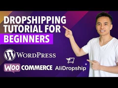 How to Make a WordPress Dropshipping Website with WooCommerce & AliDropship - 2019!