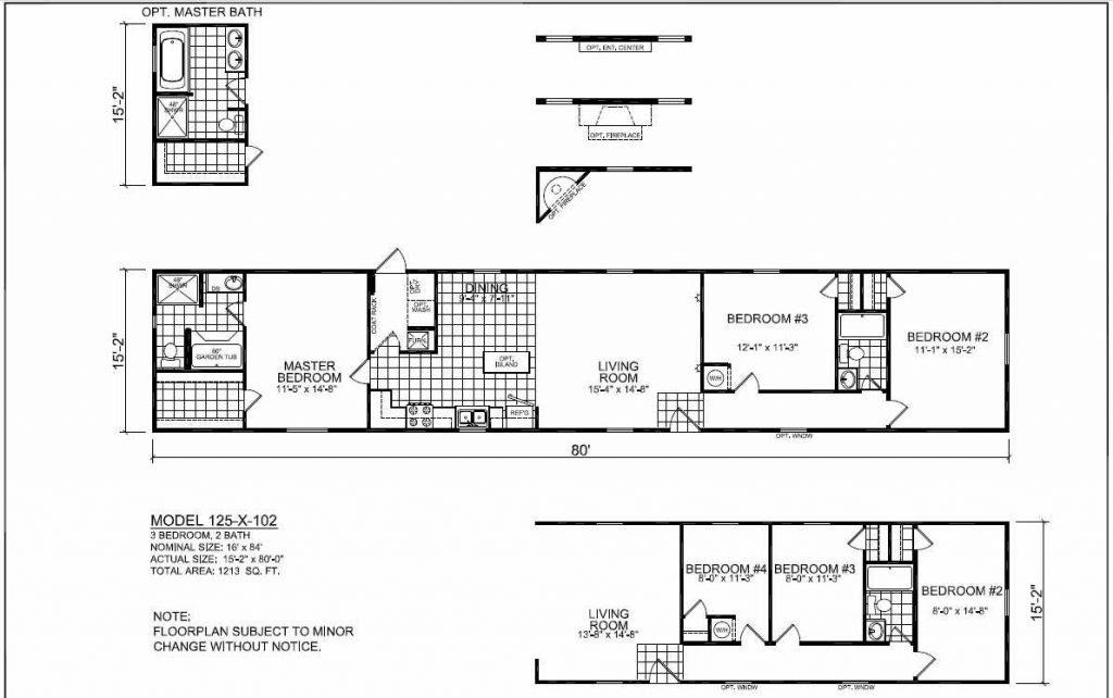 Ada Bathroom Floor Plans 2019 Buccaneer Manufactured Homes Floor Plans Modern Modular Home