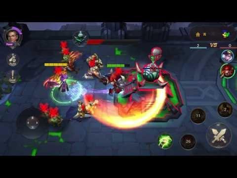Eternal Arena Mobile Gameplay / Moba