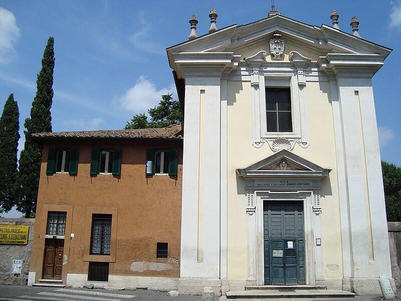 File: Eglise Domine Quo Vadis de Rome.JPG