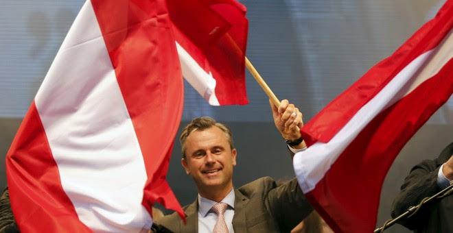 El candidato a la presidencia austriaca por el ultraderechista Partido de la Libertad, Norbert Hofer.- REUTERS / Leonhard Foeger