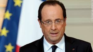 Hollande tells French Jews: Your place is here