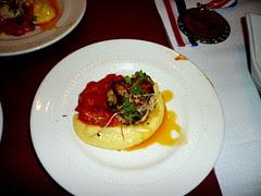 TOE - diver scallops gorgonzola polenta