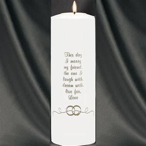 Wedding Candle Sayings   WDSC  Wedding Rings Theme Wedding
