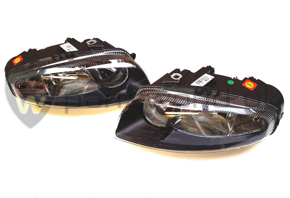 Pair of Alfa Romeo GT Blackline Head lamps RHD New \u0026 GENUINE 50505536 50505540  eBay