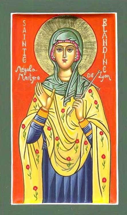 img ST. BLANDINA, Martyr