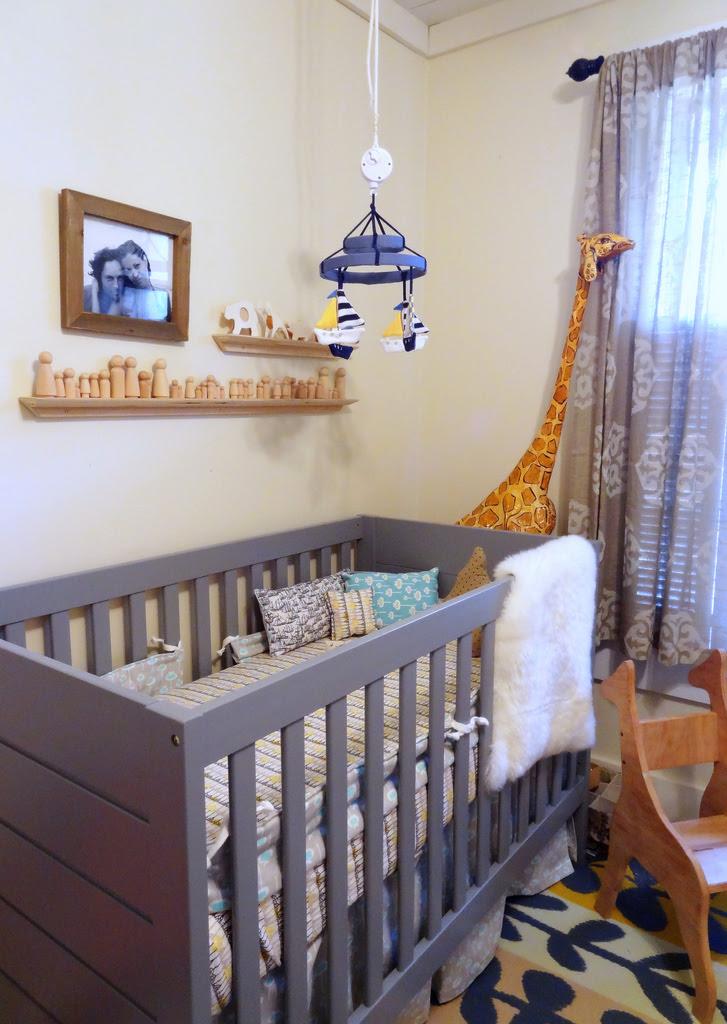 Inspired By This Modern Baby Boy Nursery