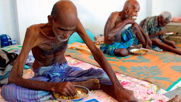 Dos mil millones de personas sufren malnutrición en el mundo, más de 90 millones de niños menores de cinco años tienen un peso peligrosamente bajo y una de cada cuatro personas pasa hambre en África.