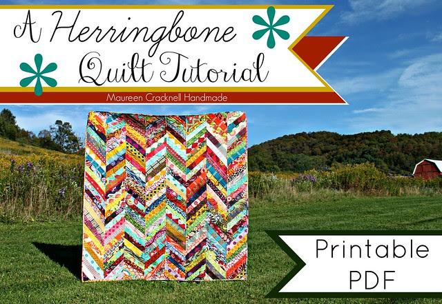 A Herringbone Quilt PDF