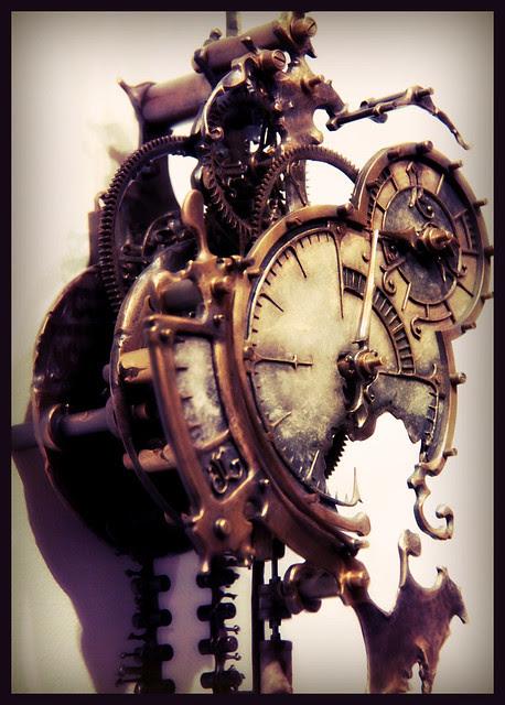 Mechanical Clock 9 - by Eric Freitas