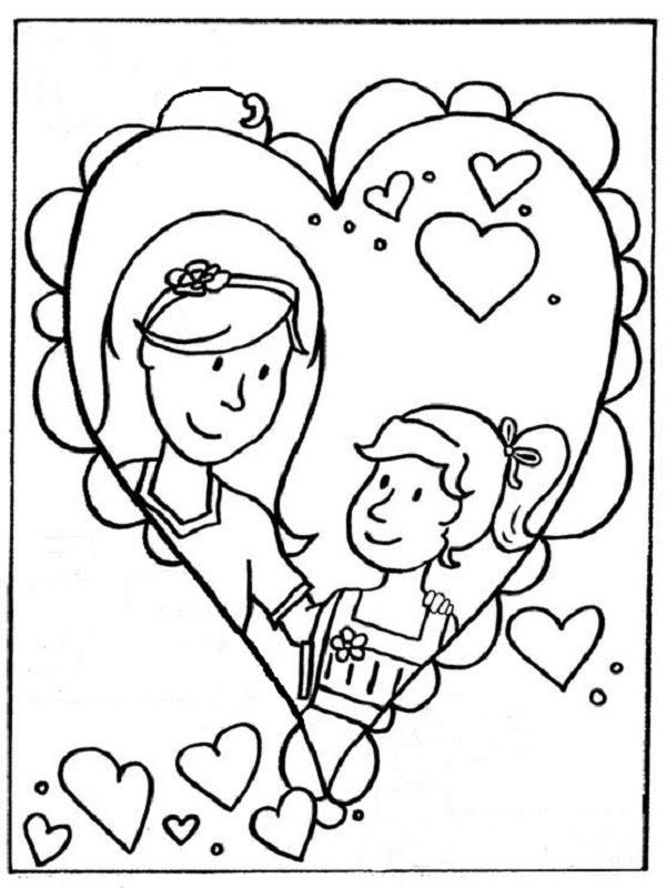 35 Dessins De Coloriage Maman à Imprimer Sur Laguerchecom Page 1