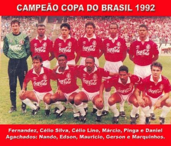 Internacional campeão da Copa do Brasil
