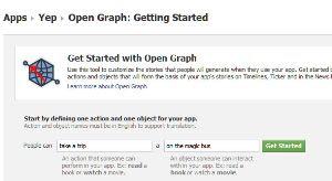 Página do Open Graph. (Foto: Produção)