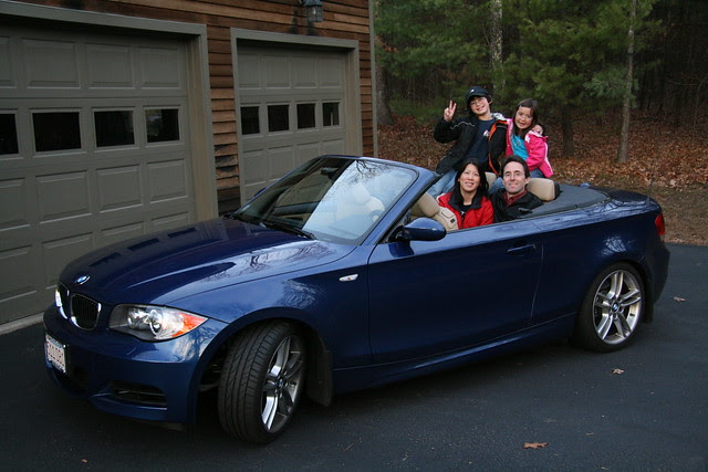 Holiday portrait in 135i