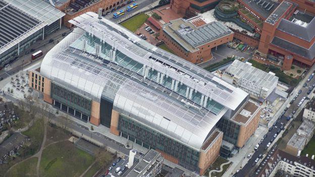 El Instituto Francis Crick visto desde el aire