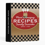 Family Recipes Personalized Mini Binder