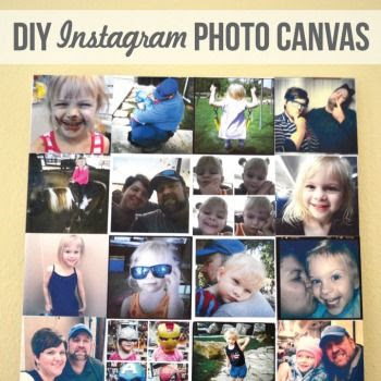 Instagram Photo Canvas