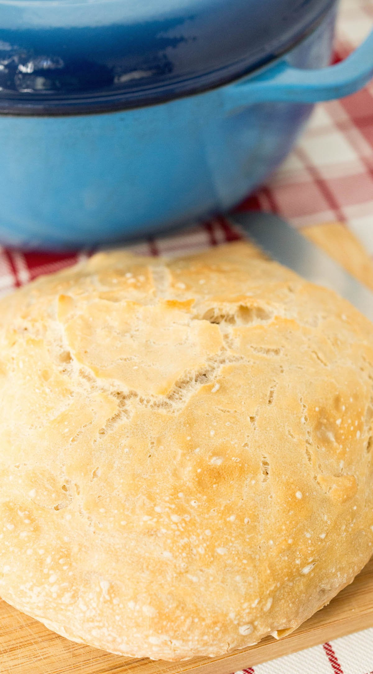 Quick & Easy Dutch Oven Bread Recipe - Cooking With Janica