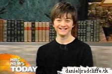 Updated(2): Daniel Radcliffe on the Today Show