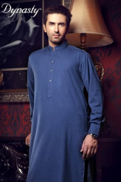 Mens-Wear-Cotton-Embroidered-Kurta-Pajama-By-Dynasty-Fabrics-New-Fall-Collection-2013-14-17