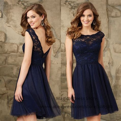 25  best ideas about Navy lace dresses on Pinterest   Navy