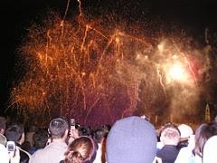 Percikan firework, London Eye, London, UK